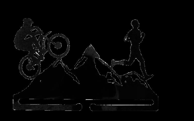 Wieszak na medale Rower Bieganie Góry