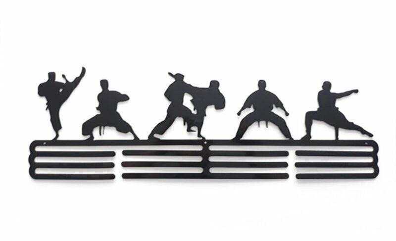 Wieszak na medale TAEKWONDO sztuki walki