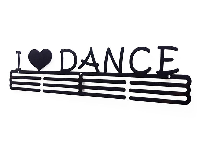 Wieszak na medale I Love Dance