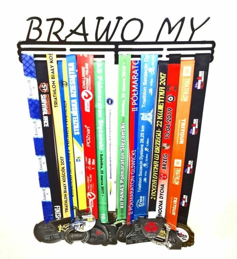 Wieszak na medale BRAWO MY