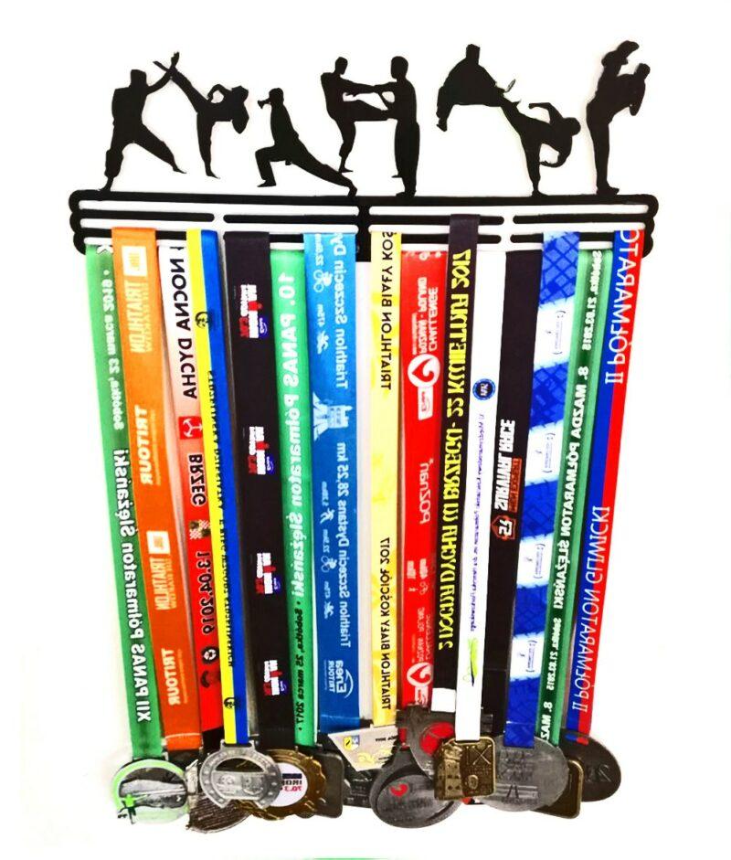 Wieszak na medale KARATE sztuki walki