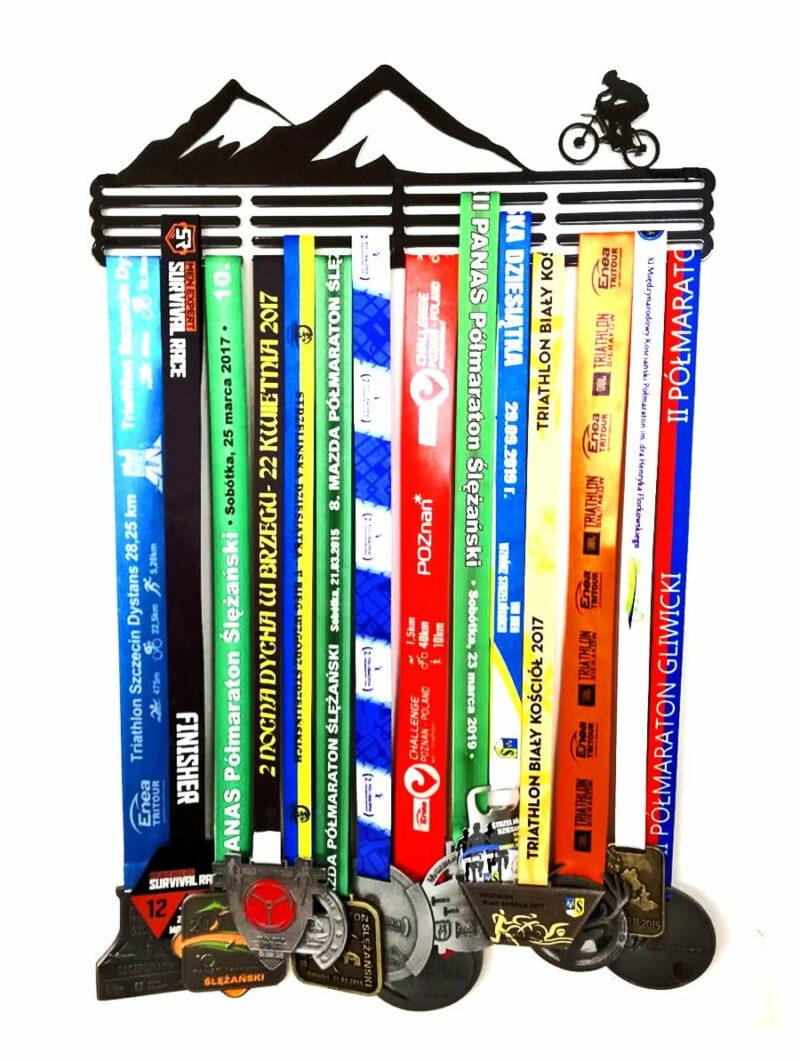 Wieszak na medale Góry Rower