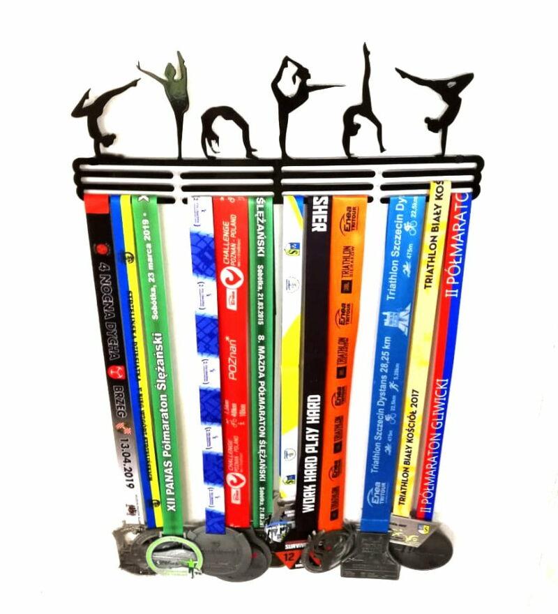 Wieszak na medale Gimnastyczki Gimnastyka