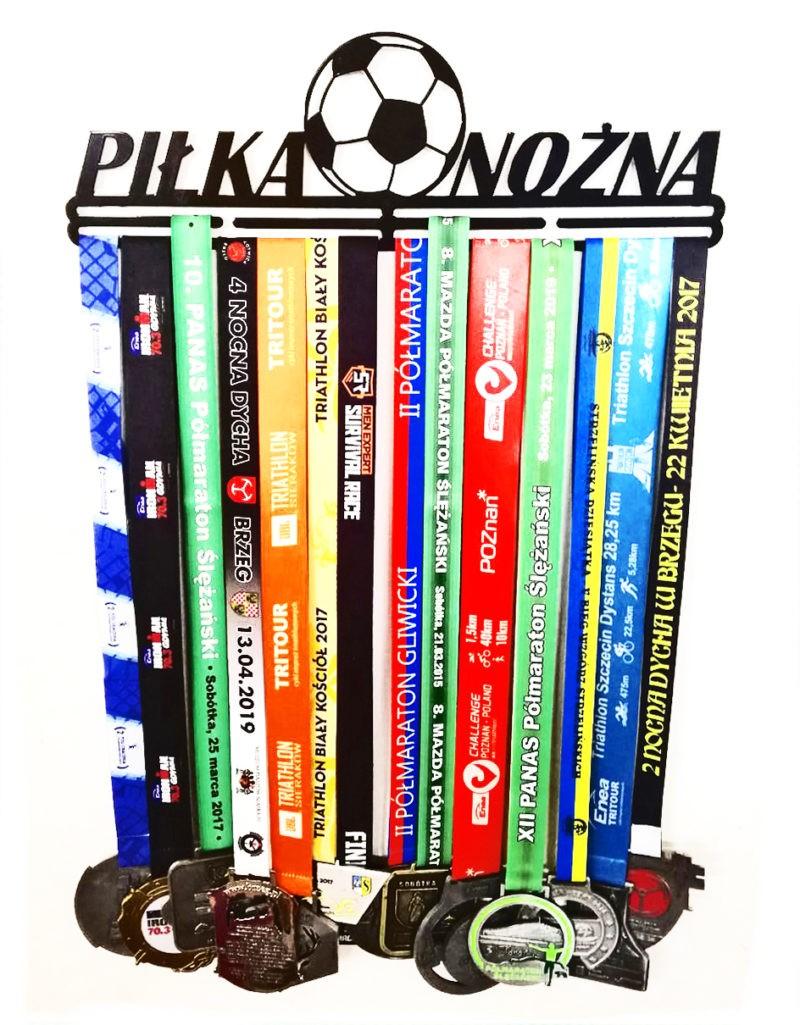 Wieszak na medale piłka nożna dla piłkarza
