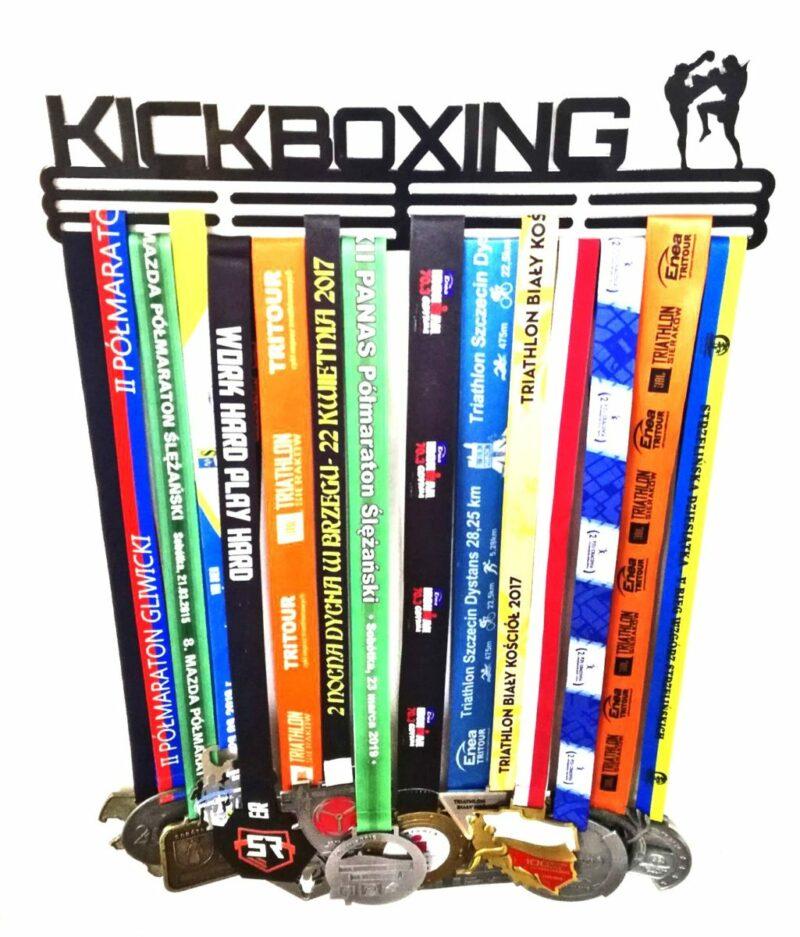 Wieszak na medale KICKBOXING