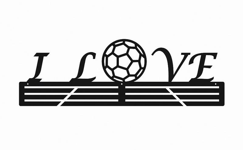 Wieszak na medale I Love Handball