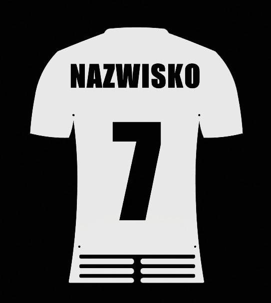 Wieszak na Medale Koszulka Piłkarska Piłka Nożna