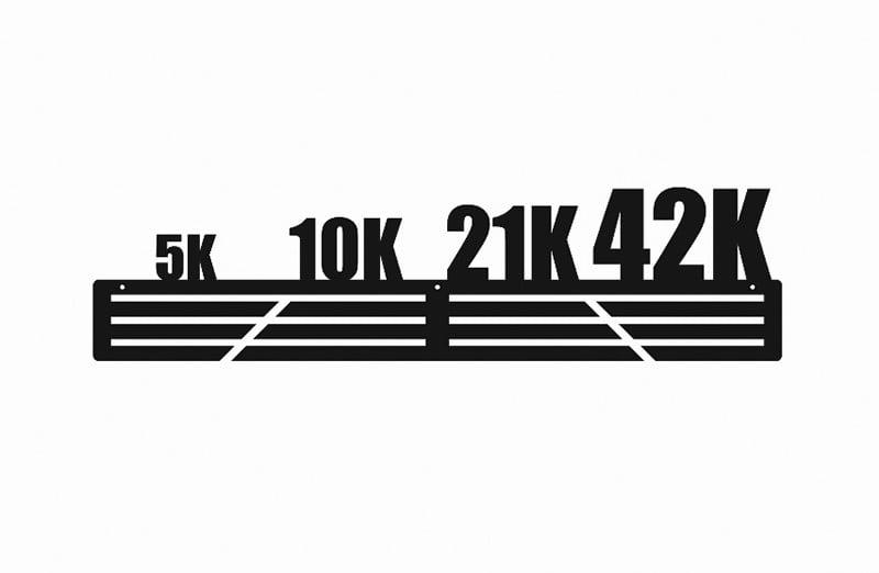 Wieszak na Medale Maraton 5k 10k 21k 42k