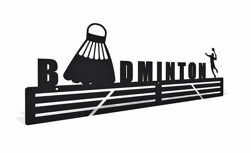 Wieszak na medale Badminton