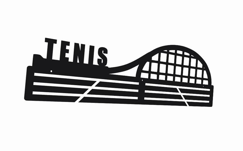 Wieszak na medale Tenis wimbledon turniej