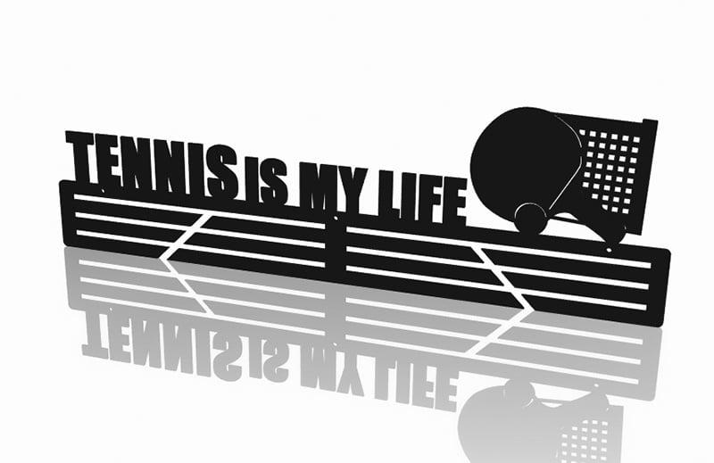 Wieszak na Medale Tennis is my life