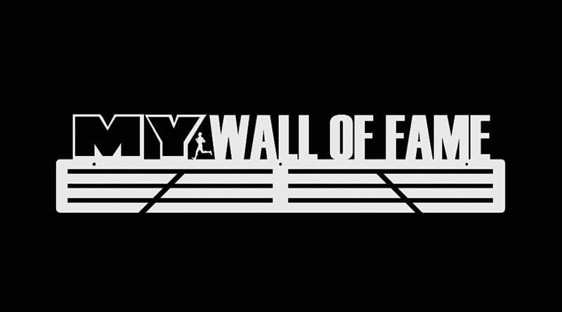 Wieszak na medale My Wall Of Fame biały