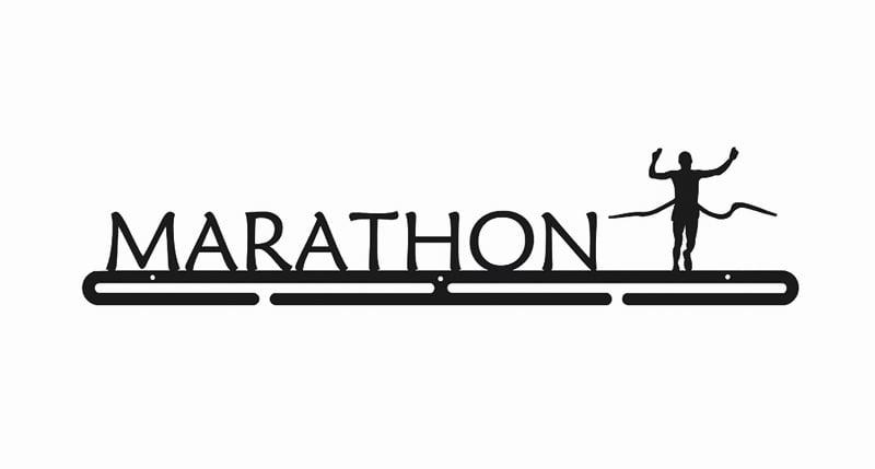 Wieszak na medale maraton