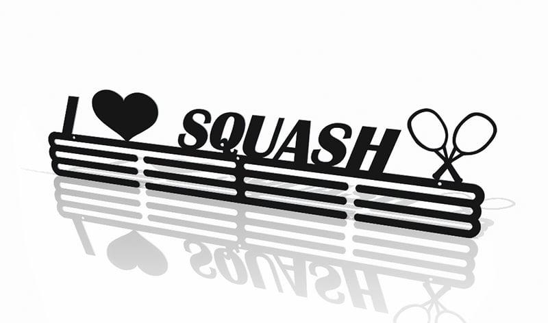 Wieszak na Medal I Love Squash