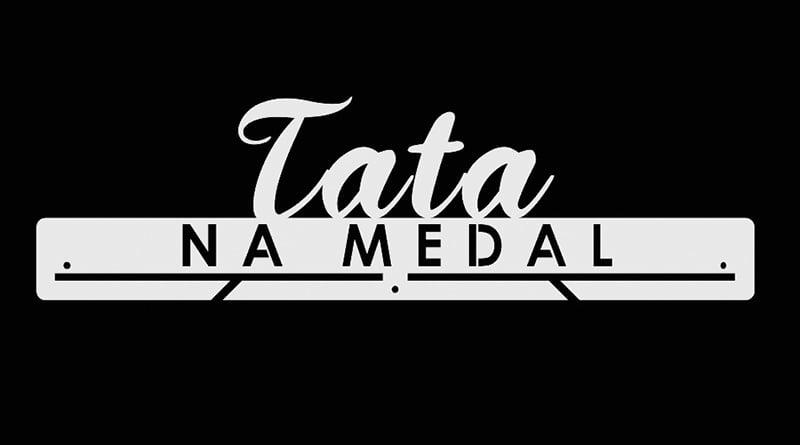 Wieszak Na Medale Tata Na Medal biały