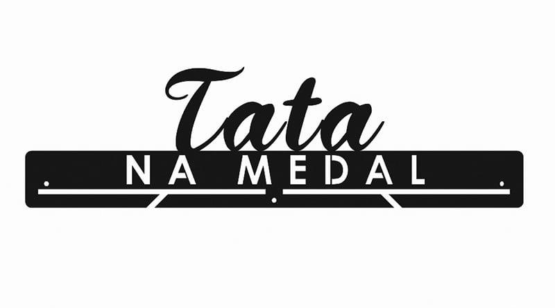 Wieszak Na Medale Tata Na Medal