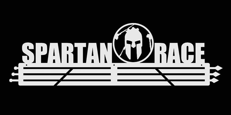 Wieszak Na Medale Spartan Race 60 Cm biały