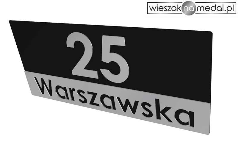tablica adresowa na ogrodzenie elewację