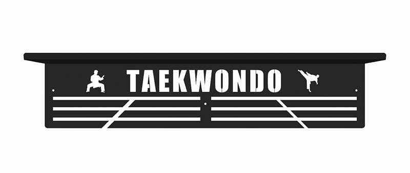 Taekwondo wieszak na medale z półką