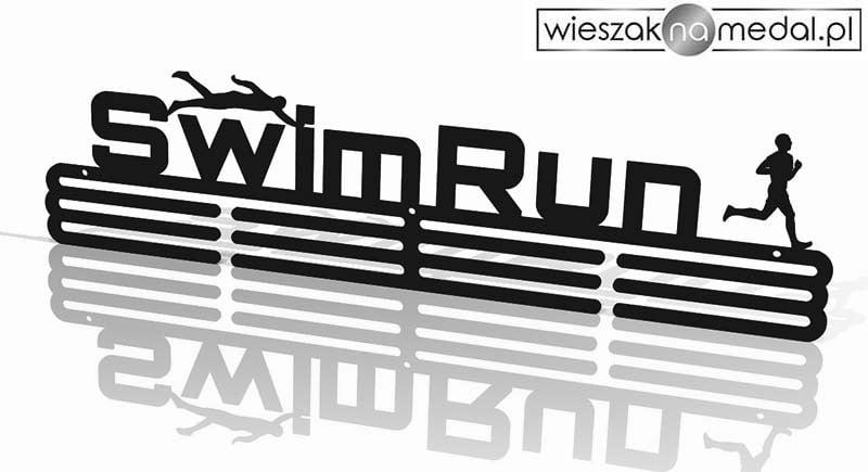 uchwyt na medale swim run metalowy