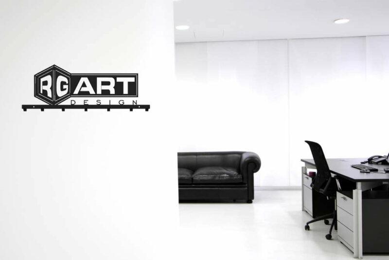 Wieszak biurowy logo firmy