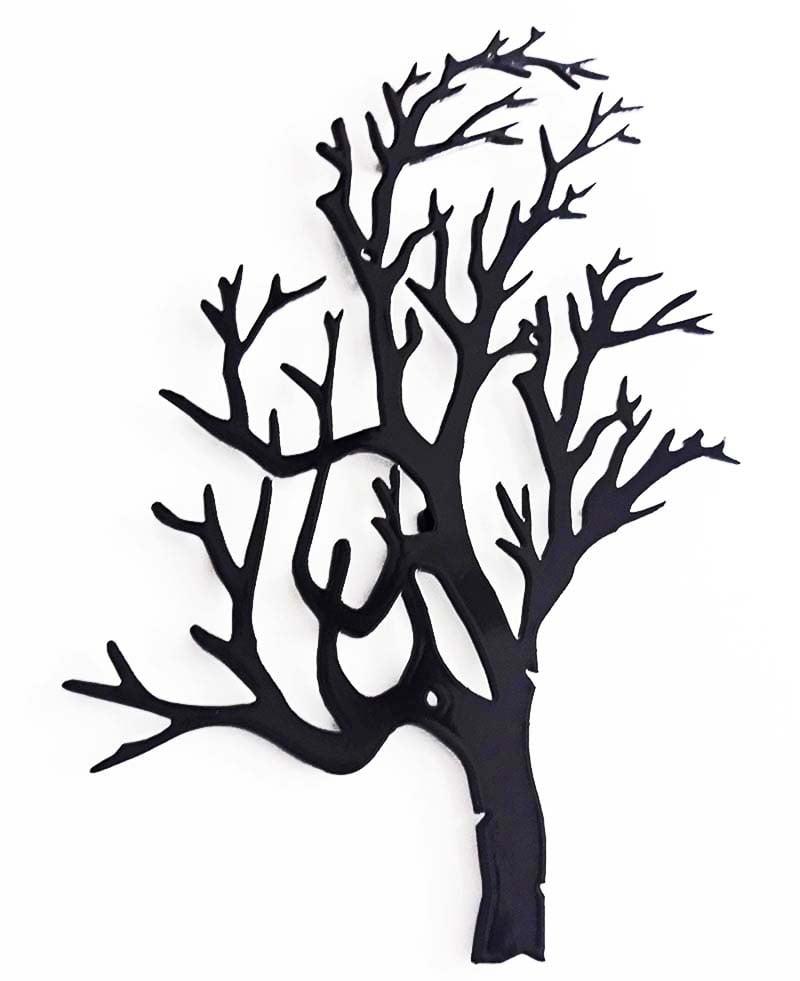 Wieszak do przedpokoju gałąź drzewa