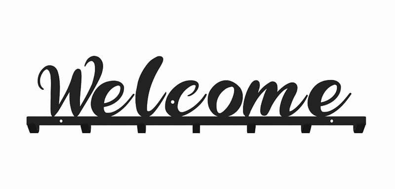 Wieszak do przedpokoju welcome
