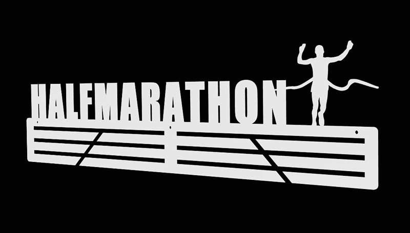 wieszak na medale półmaraton metalowy