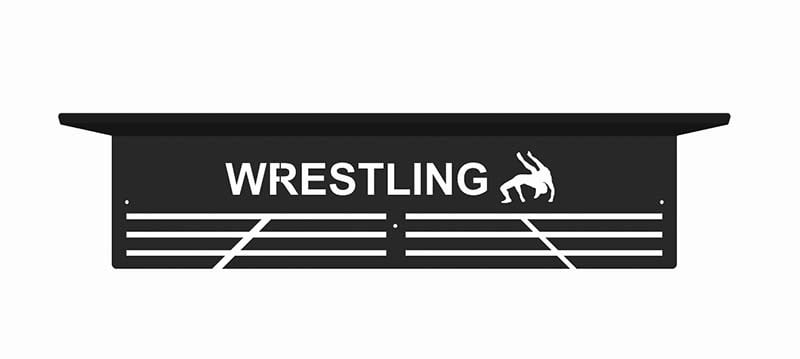 Wieszak na medale wrestling półka